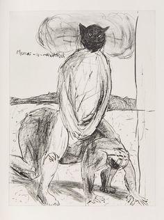 Moruti Le Mkhokhedi by Colbert Mashile David, Horses, Cats, Artwork, Artist, Projects, Prints, Log Projects, Gatos