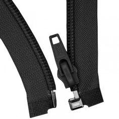 Teilbare Reißverschluss Schwarz 25CM Nylon