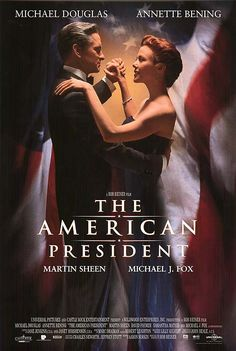 "The American President (1995)  Comedy-drama about a widowed US president and a lobbyist who fall in love. It's all aboveboard, but ""politics is perception"" and sparks fly anyway."