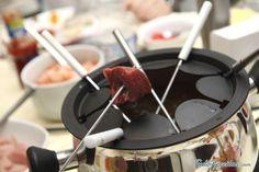 Receita de Fondue de carne sem óleo - Fácil - 6 passos
