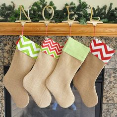 Hey, I found this really awesome Etsy listing at http://www.etsy.com/listing/155599981/burlap-stocking-with-fabric-cuff
