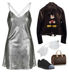 ((that_kind_0f_w0man)) by alfire-monica on Polyvore featuring polyvore, fashion, style, Topshop, Philipp Plein, adidas, Witchery, Louis Vuitton and clothing