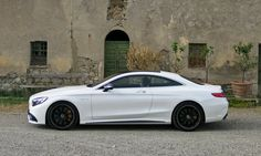 Touring Tuscany in the beastly (yet luxurious) Mercedes-Benz S550 Coupe and S63 AMG Coupe