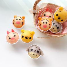 Winnie the Pooh Disney Tsum Tsum Deco Steam Cake Recipe