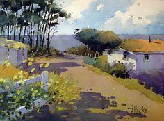 J Hicks art | Hicks Fine Art | I Found It In Waldport 18×24