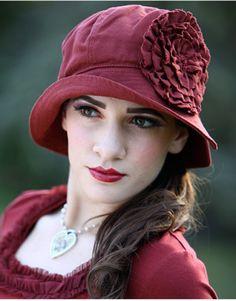 1920's inspired cloche hat