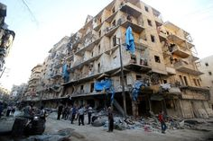 Three Hospitals Attacked in Rebel Side of Aleppo, Syria - NYTimes.com