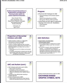 Download handout for upcoming ISHA (Indiana) convention 4/4-4/6/2013-this session 4/4/2013.  http://www.islha.org/Default.aspx?pageId=1270682.  Pinned by SOS Inc. Resources http://pinterest.com/sostherapy.