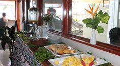 Breakfast served at Smugglers Cove Fiji