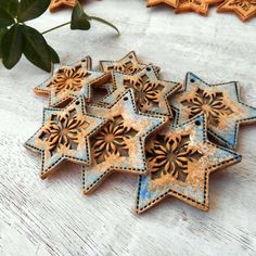 Christmas Projects, Christmas Diy, Merry Christmas, Xmas, Hand Built Pottery, Advent, Ceramics, Ornaments, Ideas