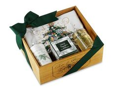 Our Winter Forest Scent Gift Set celebrates the deep, woodsy aroma of the forest in winter. #williamssonoma