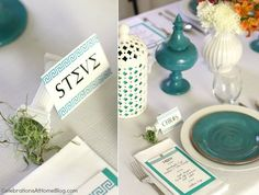 greek party decorations | Greek Themed Dinner Party — Celebrations at Home