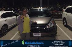https://flic.kr/p/NwQRyq | Congratulations Ranner on your #Honda #Cr-V from Christian Contreras at Honda Cars of Rockwall! #NewCar | www.deliverymaxx.com/DealerReviews.aspx?DealerCode=VSDF