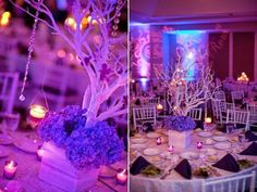 Super amazing, and elegant! This could be a DIY no sweat! Love it for a Purple Quince! #Quinceanera #Decor