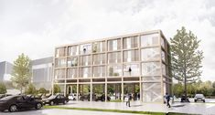 Affordable Housing Above Existing Parking Lots - eVolo | Architecture Magazine