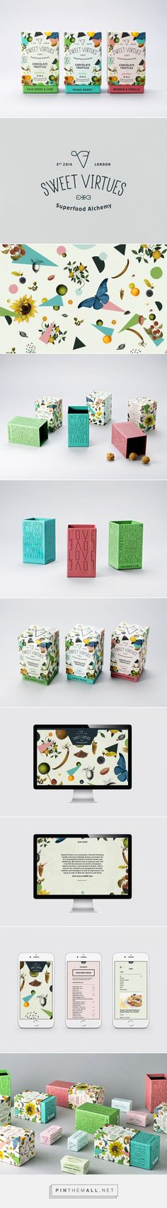 Sweet Virtues Superfood Branding and Packaging by Iwant Design | Fivestar Branding Agency – Design and Branding Agency & Curated Inspiration Gallery