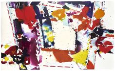 Sam Francis, Untitled, Sotheby's