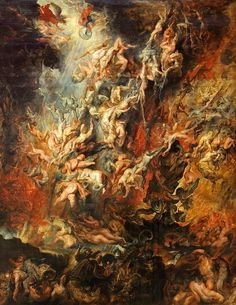 The Fall of the Damned, c.1620. Peter Paul Rubens