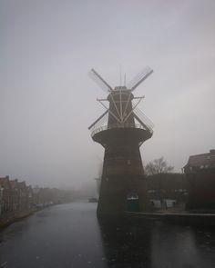Mistige maandag Noordvest Schiedam 23 januari 2017 mypic