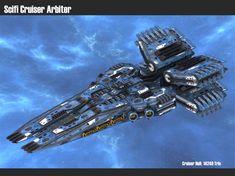 Scifi Cruiser Arbiter by msgamedevelopment on DeviantArt