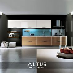 Alutema kitchen system from Euromobil, made in Italy. Custom Furniture, Furniture Design, Luxury Furniture, Kitchen Furniture, Kitchen Cabinets, Interior Design, House, Tart, Home Decor