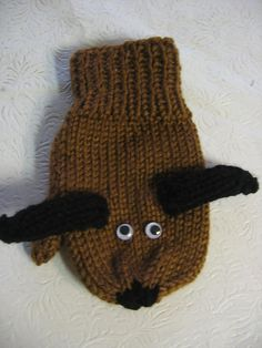 Ravelry: How to Make Mittens into Puppets pattern by Sarah Bradberry