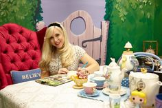 Ashley Eckstein's Alice in Wonderland Office Is Everything and More