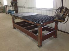 Viewing a thread - New Welding Table Pics.                                                                                                                                                      More