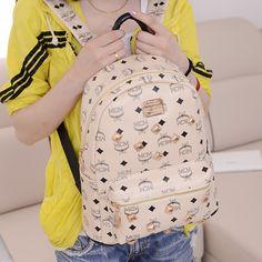 Aliexpress.com : Buy 2013 MCM women's handbag vintage backpack fashionable casual rivet bag backpack student bag on yulong liu's store. $27.00