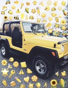 I want to cruise through town with my dobermen in a yellow Jeep. Yellow Car, Mellow Yellow, My Dream Car, Dream Cars, Dream Life, Maserati, Bugatti, Jeep Cars, Jeep Jeep