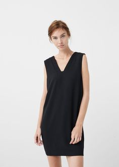 Flowy shift dress -  Women | MANGO USA