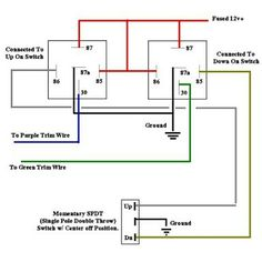 Power window wire diagram mechanics use car wiring diagrams find this pin and more on car electresity by ahmed rashed fandeluxe Images