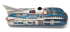 Lemez Space SHIP Car Vintage Tin Toy Battery Included Hungarian Interkozmosz | eBay