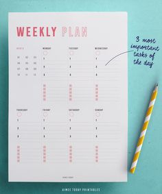 College Discover Weekly Planner printable different page layouts). Get a clear overview of your week and simplify the planning process with these clean minimal planner pages. in pretty colours of course! Week Planner, Daily Planner Pages, Weekly Planner Printable, Study Planner, Planner Book, Happy Planner, Binder Planner, College Planner, Daily Planners