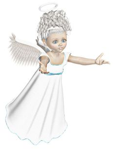 "Angel Image, White Blue Angel Cutout, 3D Angel Template, Large 3D Angel Graphics Sheet ""White Reaching Angel"" Transfer Template, Angel by FosterChildWhimsy on Etsy"
