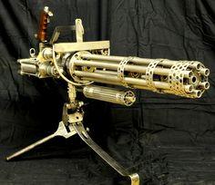 Steam Ingenious: Friday Finds: Really Big Steampunk Guns