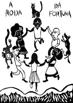 Tarot Deck of Cards Teen Witch, Chalkboard Lettering, Wheel Of Fortune, Major Arcana, Arte Popular, Outsider Art, Tarot Decks, Archetypes, Deck Of Cards