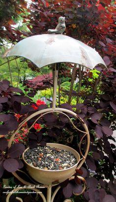 Birdfeeder  (Garden of Len & Barb Rosen)