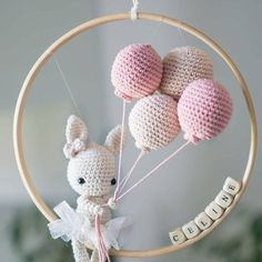 Amigurumi For Baby Room – Knitting And We Crochet Baby Mobiles, Crochet Baby Toys, Crochet Amigurumi, Crochet Bunny, Crochet Toys Patterns, Cute Crochet, Stuffed Toys Patterns, Amigurumi Doll, Crochet For Kids