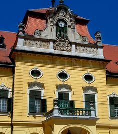 Nagymágocsi Károlyi-kastély Hungary, Big Ben, Building A House, Buildings, Travel, Viajes, Build House, Destinations, Traveling