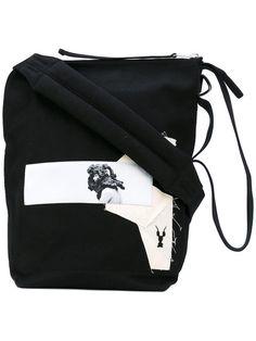 RICK OWENS DRKSHDW . #rickowensdrkshdw #bags #shoulder bags #cotton #