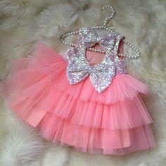 Icy Pink Princess Dress