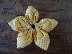 House of Pinheiro: How to make a fabric flower tutorial