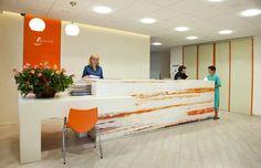 formmed - reception desk