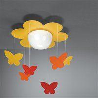 Philips 400963448 KidsPlace Flower Butterfly Kids Ceiling Light