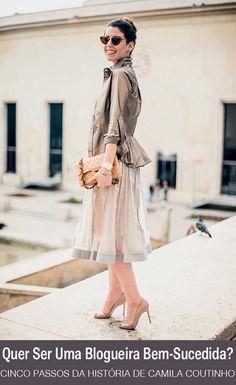 Cinco lições da maior blogueira de moda do Brasil   http://alegarattoni.com.br/cinco-licoes-camila-coutinho/