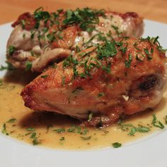 Chicken with roasted Lemon, Rosemary & Garlic Sauce