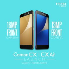 ByAmole Olatunde  Tecno Mobile has officially launched its CAMON CX and CX AIR in Kenya to begin its market push for its new smartphones in Africa. The two models are available across severa…