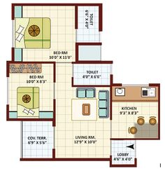 700 square foot house layout