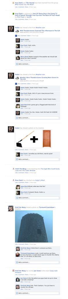 Game Of Thrones Facebook Recap Season 3 Episode 9 | Happy Place